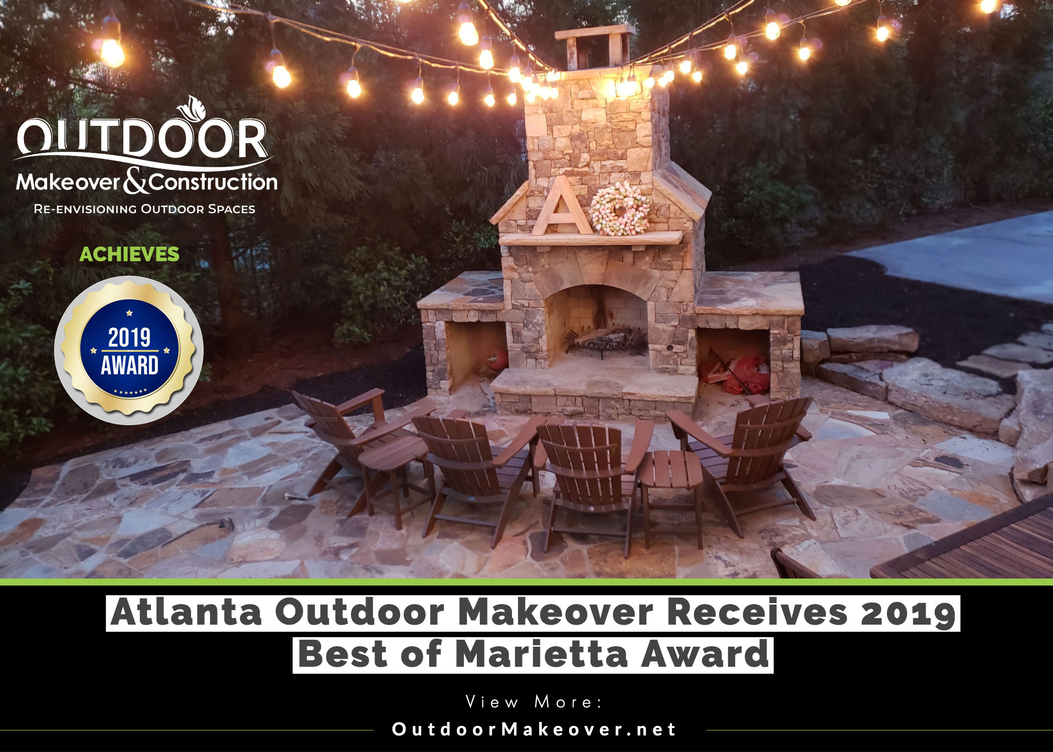 2019 Best of Marietta Award for Outdoor Makeover & Construction