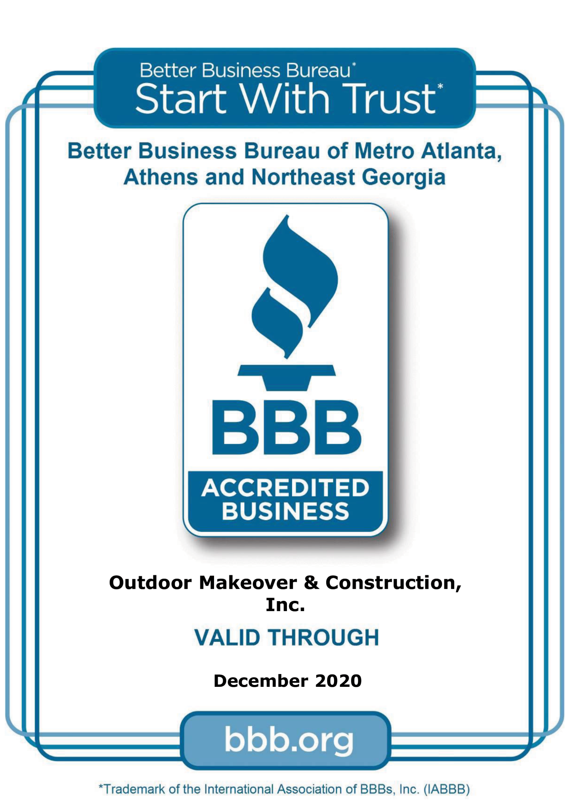 Better Business Bureau of Metro Atlanta - Accredited Business