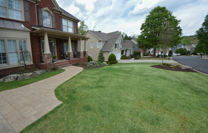 front yard atlanta landscapedesign outdoormakeover.