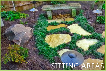 outdoor sitting areas from outdoor makeover