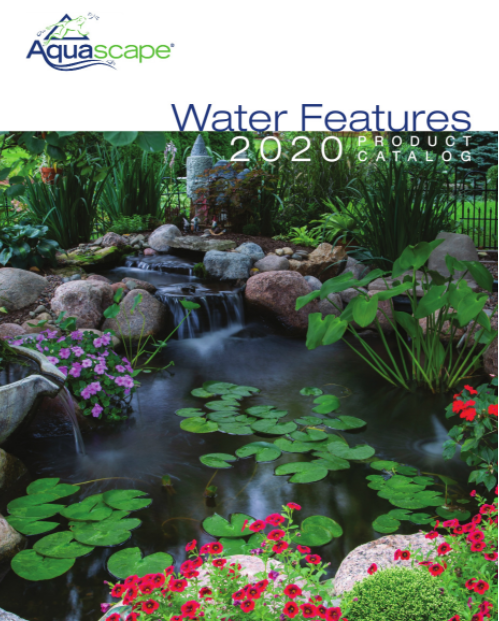 water features 2020 product catalog