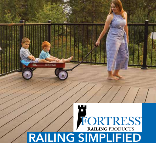 fortress railing products catalog