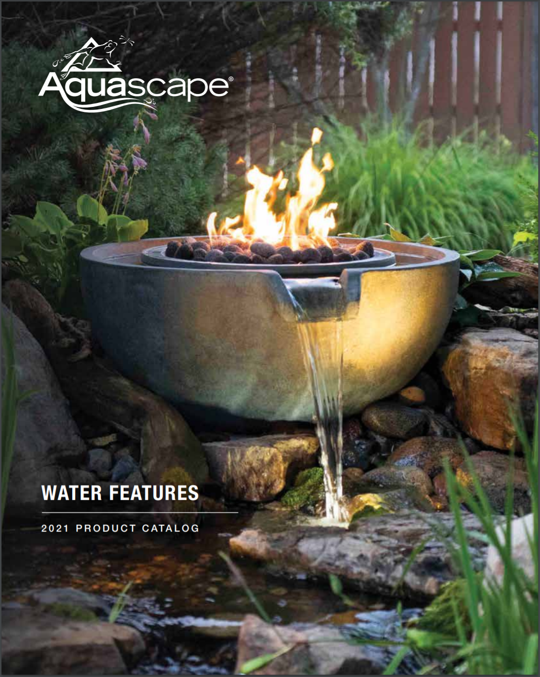 aquascape water features 2021 product catalog