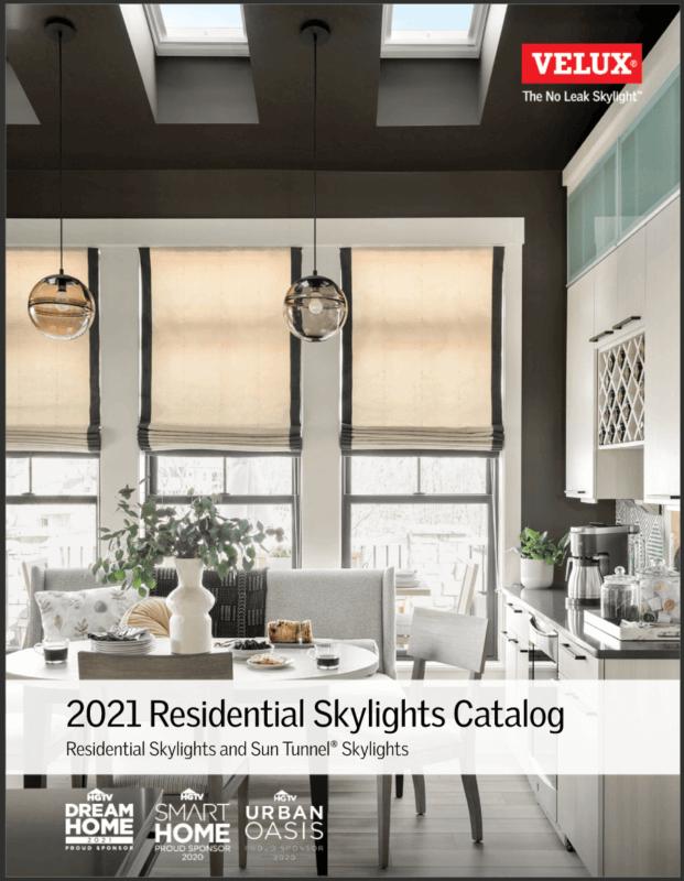 velux 2021 residential skylights catalog