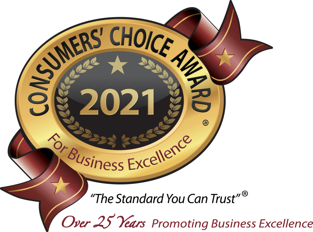 consumers choice award for business excellence 2021 for outdoor makeover & living spaces
